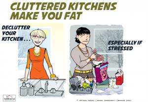Messy Kitchen Environment May Be a Trigger For Unhealthy Weight Gain