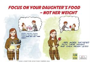 Parents Commenting on Their Daughter's Weight is Not a Good Idea