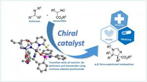 Chiral Molecules can be Synthesized Using Catalytic Mannich Reaction