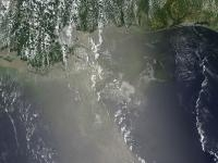 Report: NASA's Aqua Satellite Saw Oil Slick in Sunglint on June 10