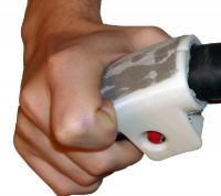 A Device Mounted on the Steering Wheel to Guide Your Fingers While Driving