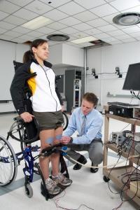 Stress Slows Loss of Bone Density in SCI Patients