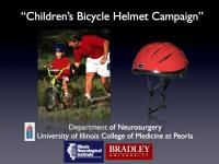 Bicycle Helmets Shown To Be Effective