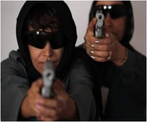 Brave Afghan Women Discard Burqas for Blue Police Uniforms