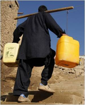 Afghans Crave For Drinking Water