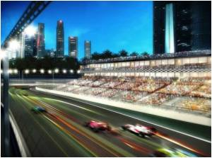 Singapore Bans Tobacco Ads  for Inaugural Formula One Grand Prix