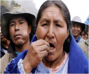 Bolivia Defends Coca Leaf Chewing