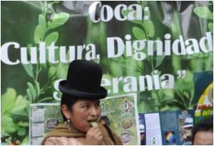 Bolivia Defends Coca Leaf Chewing