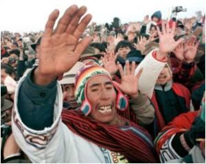 End UN Ban, Say Coca-Chewing Bolivians