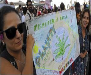 Legal Marijuana Demanded by Brazilian Demonstrations