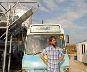 Successful Global Eco-Bus Trip for British Adventurer