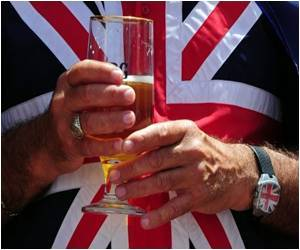 Beer Guzzling Moving From Pubs to Brit Homes