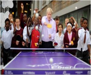 'Trendy' Ping Pong Makes a Comeback in London