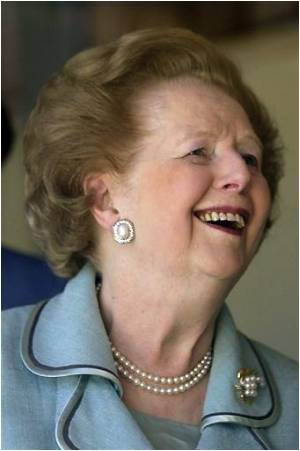 Margaret Thatcher Undergoes Successful Arm Operation
