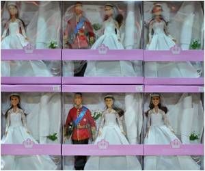 Will And Kate Wedding-Styled Dolls Hit Brit Shelves