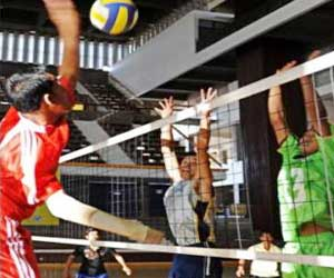 Cambodian Amputees in the Reckoning for Volleyball Crown
