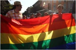 LGBT Community Converges For Global Day Against Homophobia