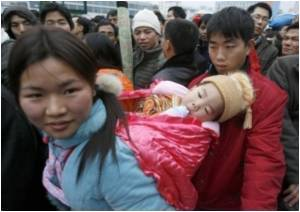 Male-female Ratio in China Affected Due to Trafficking of Women