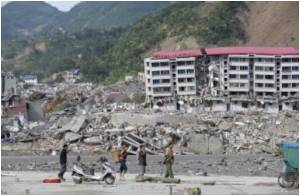 China's Quake Zone Sealed Off to Prevent Epidemic Spread