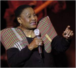 Myriam Makeba Supports  Kinshasa Women in Fighting AIDS