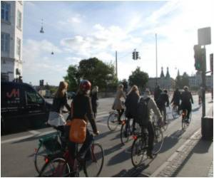 Bicycle Super Highways Now in Copenhagen