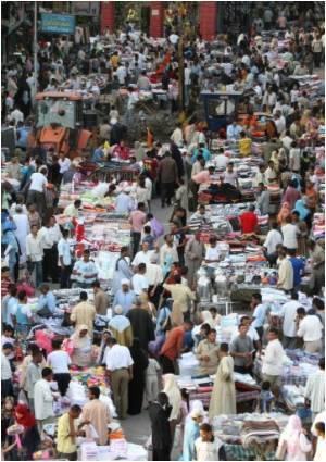 President Mubarak Urges for Population Stabilization in Egypt