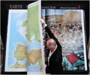 Frankfurt Fair Witnesses Launch of 'World's Biggest Book'