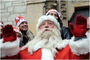 It's Christmas Every Day For Canadian Santa Fan