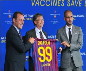 Gates Foundation Partners With Barcelona for Polio Eradication