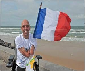 Marvel: Limbless French Swimmer Set to Cross Five Continents