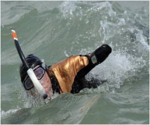 Australian Grandfather Celebrates English Channel Swimming Record