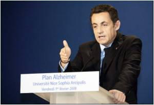 French President Unveils Plan to Fight Alzheimer's Disease
