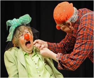 Reports Says German Pensioners Take to Clowning Around