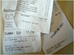 Berlin Restaurants Charge 'Extra Tips' With Misleading Bills! Achtung Tourists!