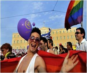 Many Thousands of Greeks Participate in Gay Pride Parade
