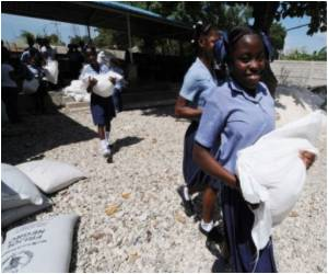 Quake-Hit Haiti Lures Children Back to School With Hot Meals