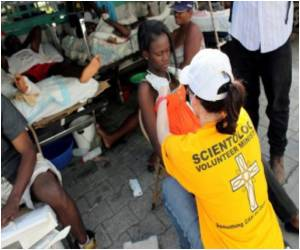 Controversial Church of Scientology Brings Its Healing 'Touch' to Haiti