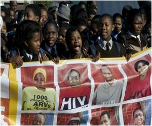 S.Africa Marks Milestone in Fight Against AIDS