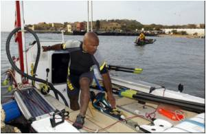 AIDS Activist in New Bid to Row the Atlantic