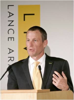 Armstrong Launches New Campaign Against Cancer