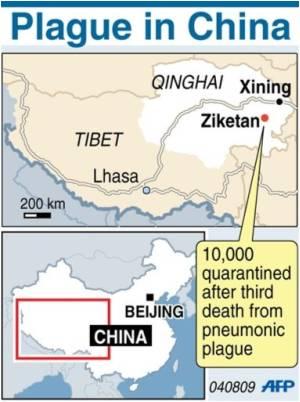 China Pneumonic Plague Toll Rises to 3: Report
