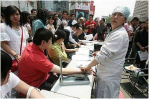 Lesbians in China Petition for Right to Donate Blood