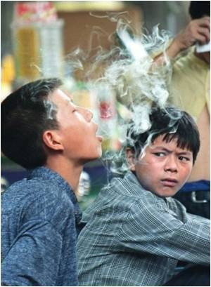 The Everincreasing Teenage Smokers Population in China