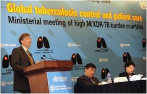 China Gets $33 Million From Gates To Fight Tuberculosis
