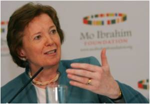 Mary Robinson Named Head of GAVI Alliance