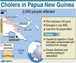 Australia Restricts Travel To PNG Islands Over Cholera Epidemic