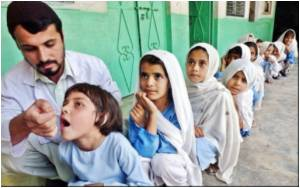 Pakistan Launches Nationwide Anti-polio Drive
