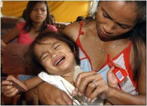 Conflict, Disasters Lead to Mental Health Problems in Philippines