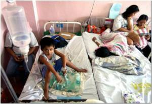 Philippines Records 4,000 Cases of Dengue in a Week