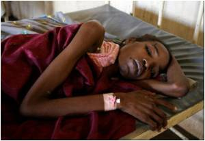 WHO reports of cholera outbreak in Sudan